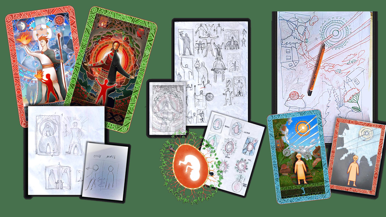 Cartes constellation familiale systémique - histoire